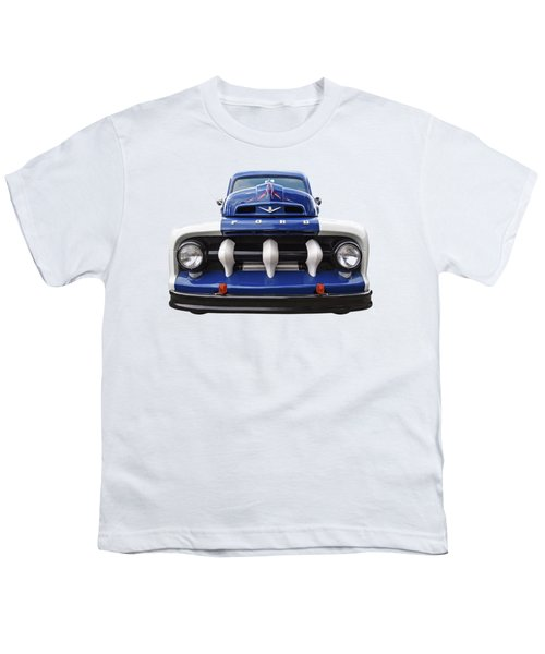 Early Fifties Ford V8 F-1 Truck Youth T-Shirt