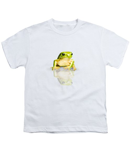 Green Tree Frog Youth T-Shirt