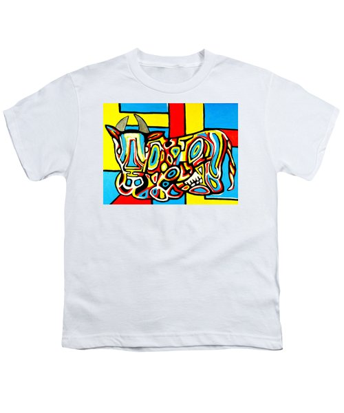 Haring's Cow Youth T-Shirt