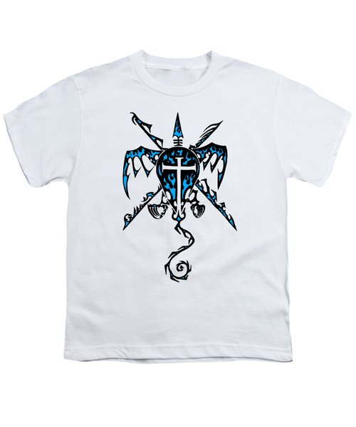 Shield Wing And Spears Youth T-Shirt