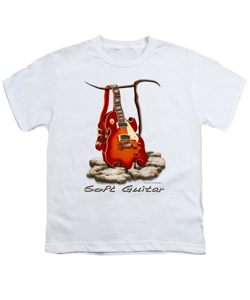 Soft Guitar - 3 Youth T-Shirt