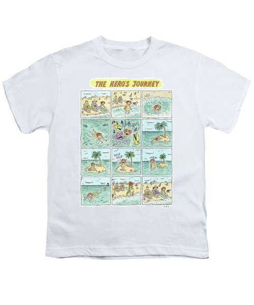 The Heros Journey Youth T-Shirt
