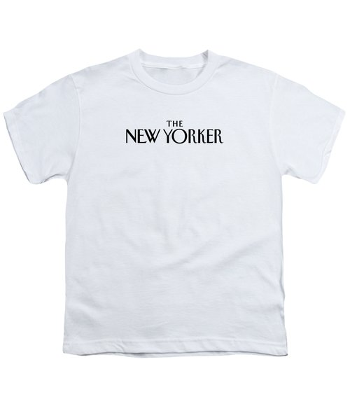 The New Yorker Logo Youth T-Shirt