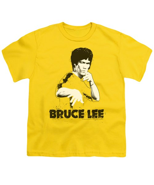 Bruce Lee - Suit Splatter Youth T-Shirt