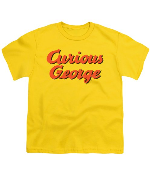 Curious George - Logo Youth T-Shirt