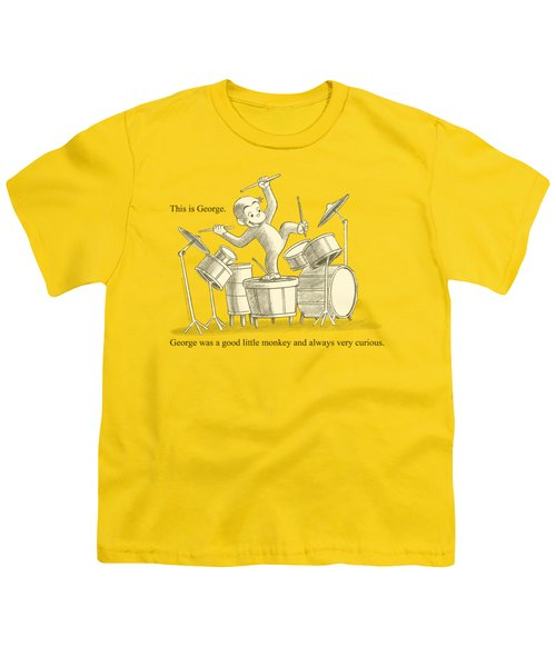 Curious George - This Is George Youth T-Shirt by Brand A