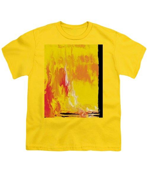Lemon Yellow Sun Youth T-Shirt by Roz Abellera Art