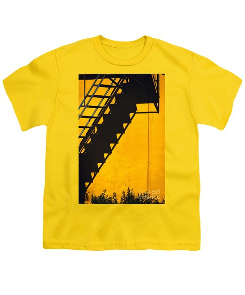 Youth T-Shirt featuring the photograph Staircase Shadow by Silvia Ganora