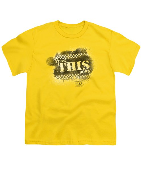 Taxi - Flag This Youth T-Shirt