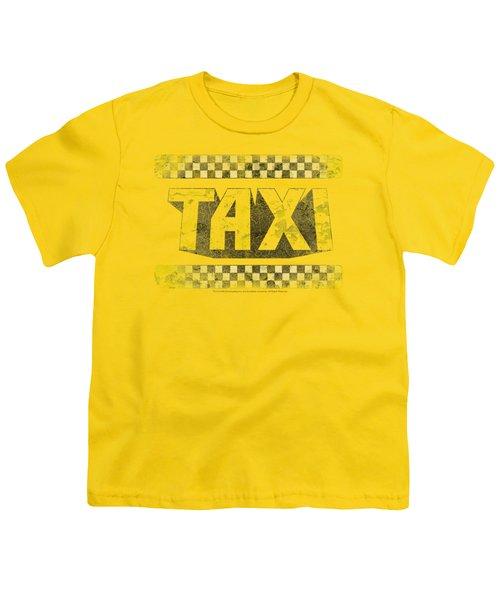 Taxi - Run Down Taxi Youth T-Shirt