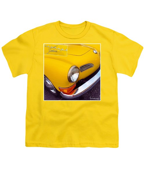 Spotted This #car Today While Youth T-Shirt by Austin Tuxedo Cat
