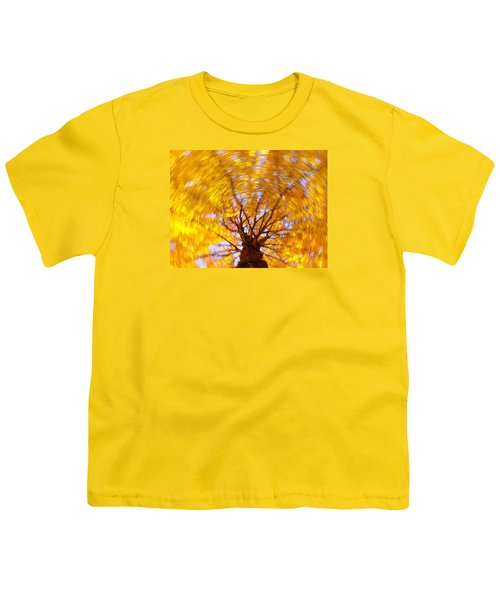 Spinning Maple Youth T-Shirt