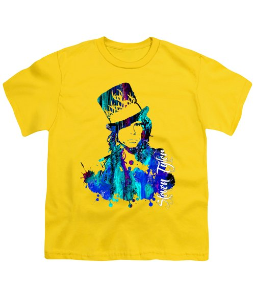 Steven Tyler Collection Youth T-Shirt by Marvin Blaine