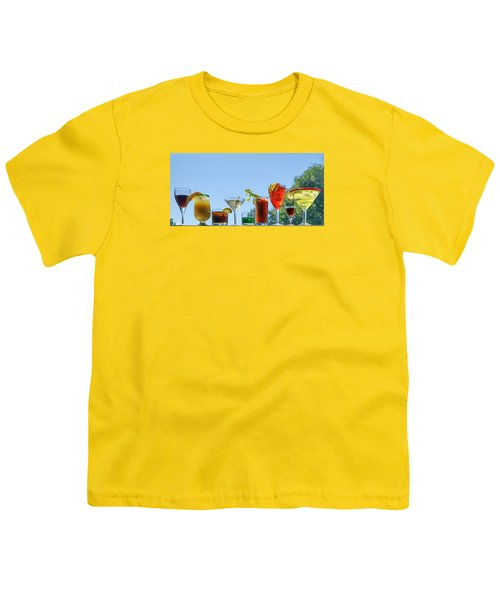 Alcoholic Beverages - Outdoor Bar Youth T-Shirt