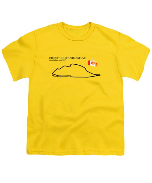 Circuit Gilles Villeneuve Youth T-Shirt