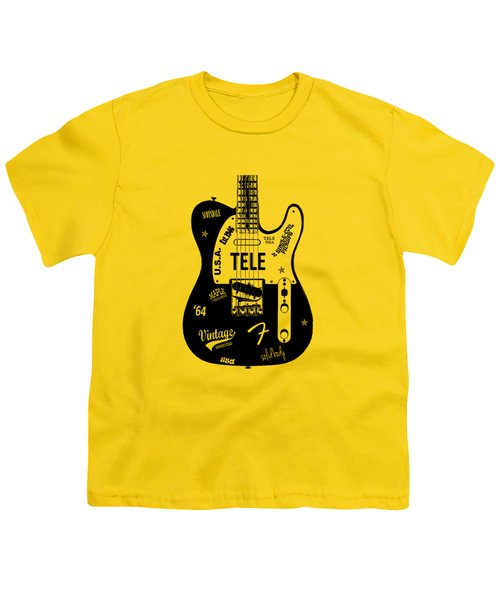 Fender Telecaster 64 Youth T-Shirt by Mark Rogan