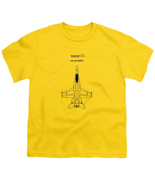The F-18 Hornet Youth T-Shirt