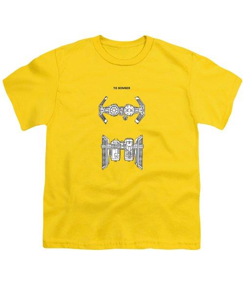 Star Wars - Spaceship Patent Youth T-Shirt