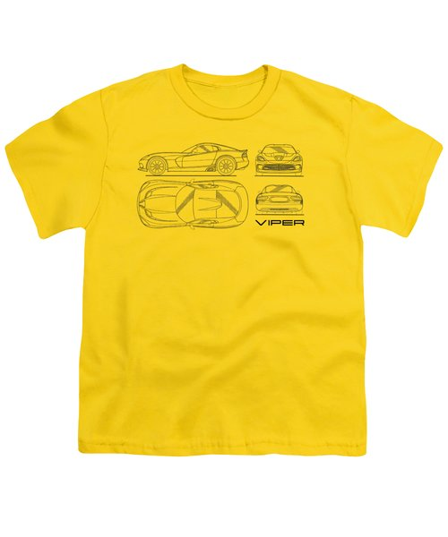 Srt Viper Blueprint Youth T-Shirt
