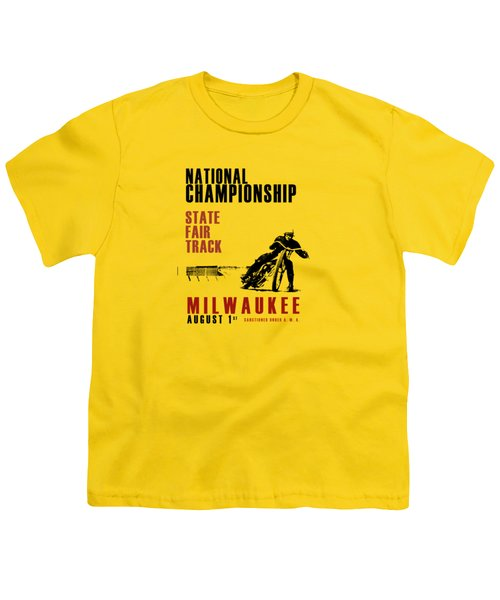 National Championship Milwaukee Youth T-Shirt by Mark Rogan