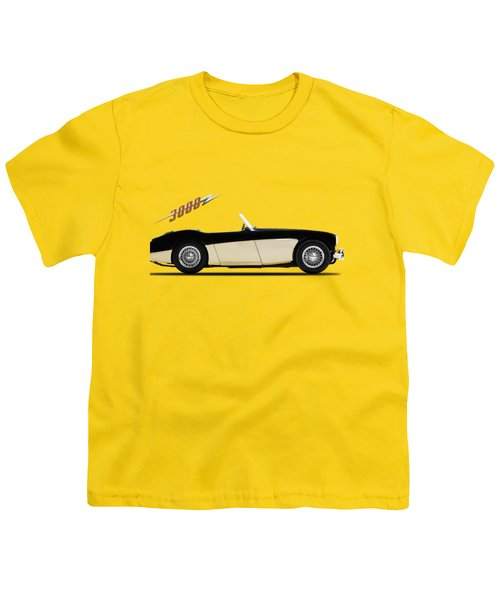Austin Healey 3000 Youth T-Shirt by Mark Rogan