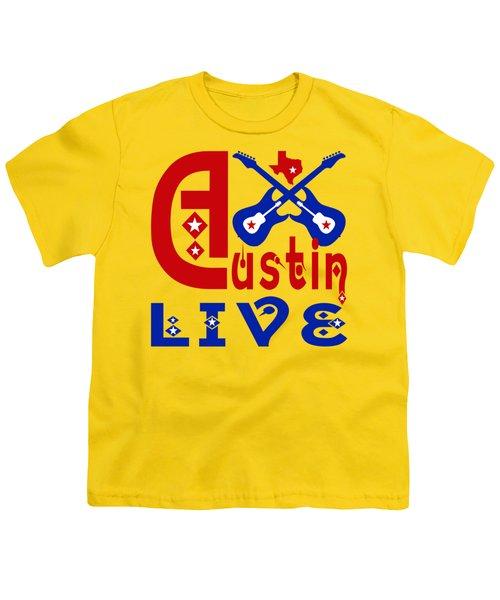 Austin Live Youth T-Shirt