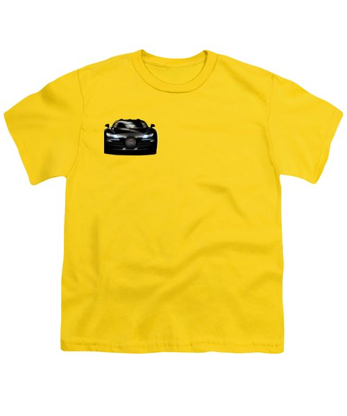 Bugatti Veyron Youth T-Shirt by Mark Rogan