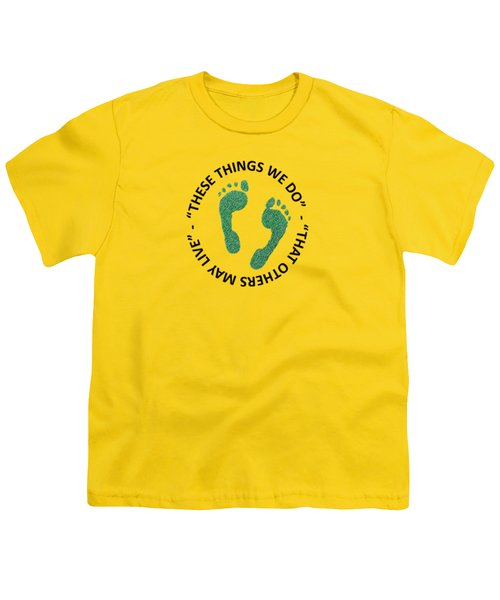 Combat Search And Rescue Youth T-Shirt by Julio Lopez
