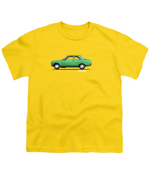 Escort Mark 1 1968 Youth T-Shirt by Mark Rogan