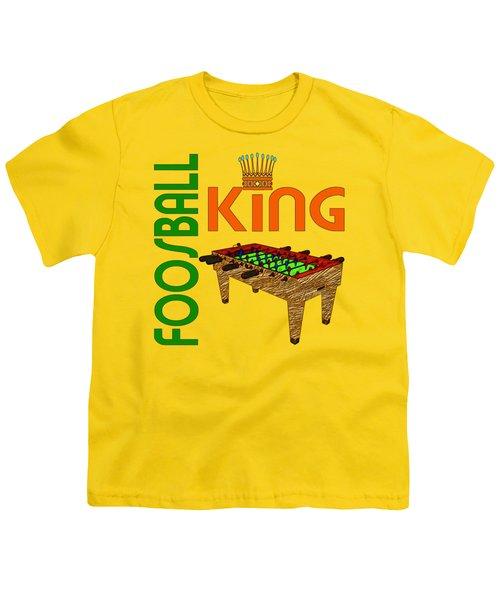 Foosball King Youth T-Shirt