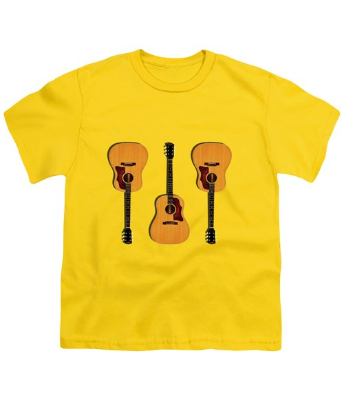 Gibson J-50 1967 Youth T-Shirt by Mark Rogan