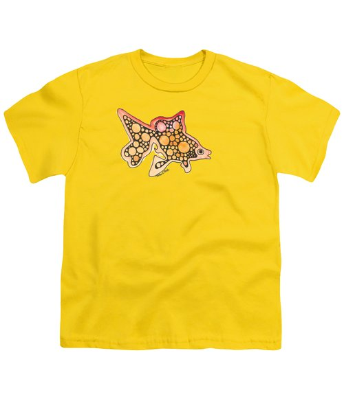 Goldfish Youth T-Shirt by Petra Stephens