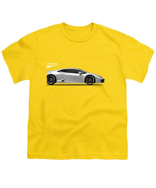 Lamborghini Huracan Youth T-Shirt by Mark Rogan
