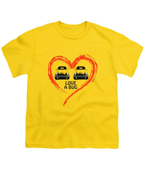 Love A Bug Youth T-Shirt