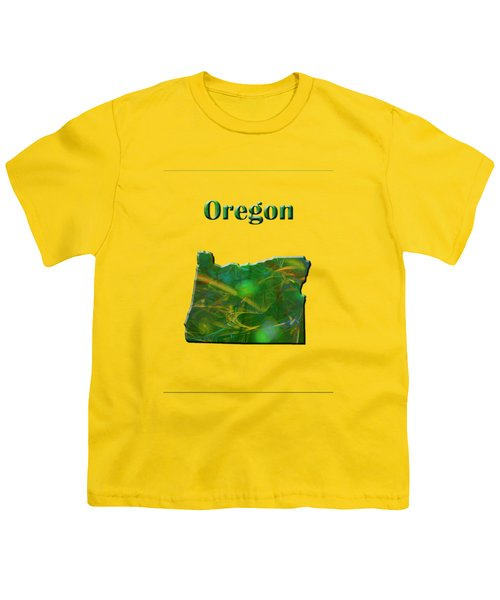 Oregon Map Youth T-Shirt