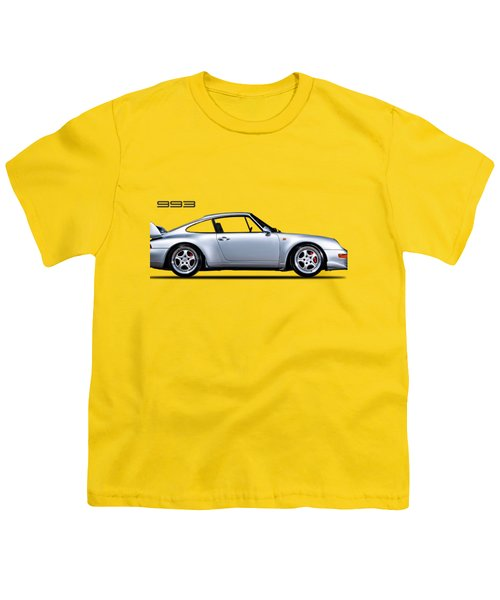Porsche 993 Youth T-Shirt by Mark Rogan