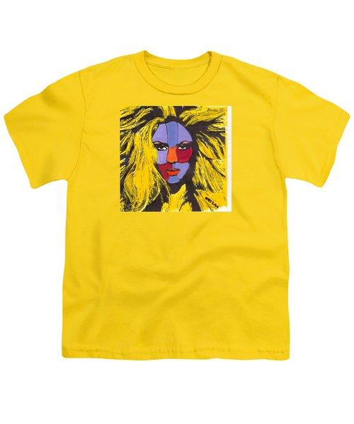 Shakira Youth T-Shirt by Zheni Mavromati