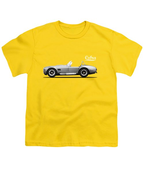 Shelby Cobra 427 Sc 1965 Youth T-Shirt by Mark Rogan