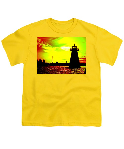 Southcoast Silhouette  Youth T-Shirt by Kate Arsenault