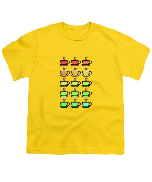 Tea Cups Youth T-Shirt