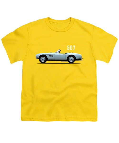 The Bmw 507 Youth T-Shirt by Mark Rogan