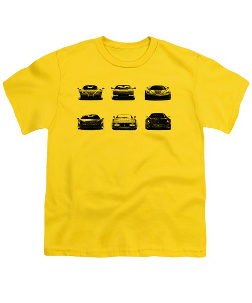 The Italian Supercar Collection Youth T-Shirt