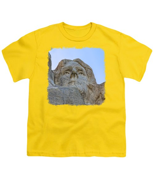 Thomas Jefferson 3 Youth T-Shirt by John M Bailey