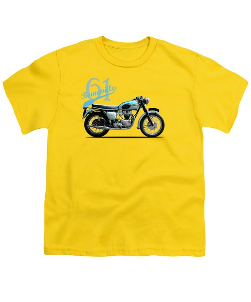 Triumph Bonneville 1961 Youth T-Shirt