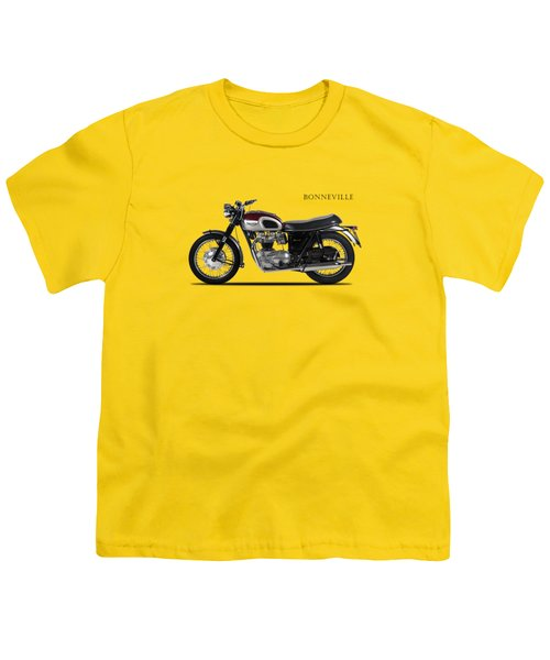 Triumph Bonneville 1968 Youth T-Shirt by Mark Rogan