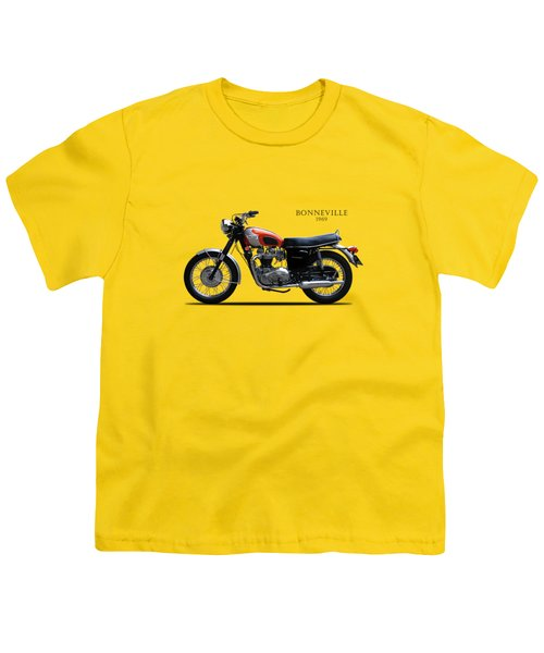 Triumph Bonneville 1969 Youth T-Shirt by Mark Rogan