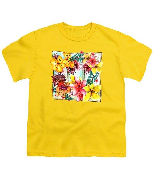 Tropicana By Kaye Menner Youth T-Shirt by Kaye Menner