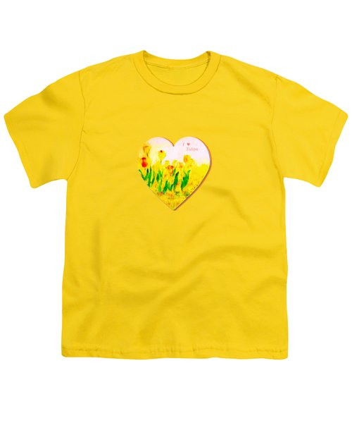 Tulips In Springtime Youth T-Shirt