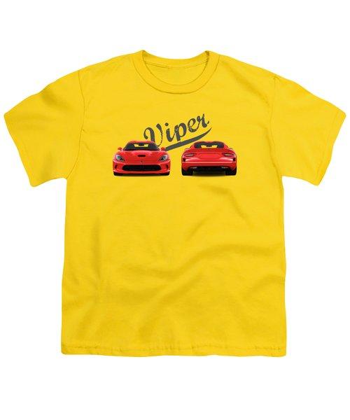 Viper Youth T-Shirt by Mark Rogan