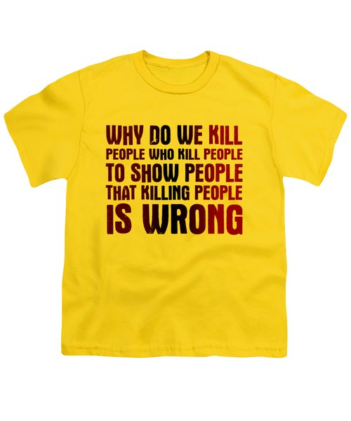 Showing People Youth T-Shirt